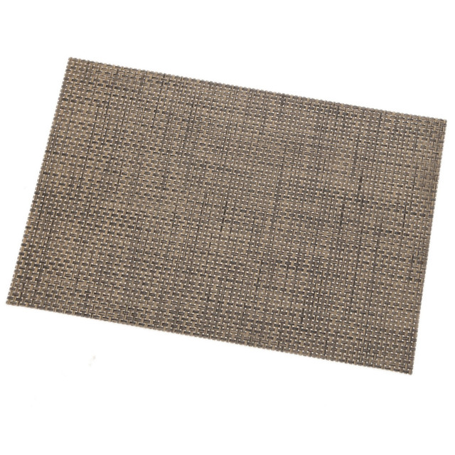 Hot Sale Rectangular Western Mats PVC Quick Drying Placemats Insulation Mats  Coasters Kitchen Dining Table