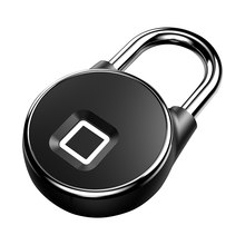 BT Wifi Vingerafdruk Smart Lock Keyless Anti-Diefstal Hangslot Telefoon APP Controle(China)