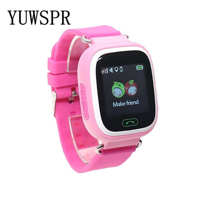 kids GPS Tracker watch GPS LBS location Anti-Lost SOS Call Finder Touch Screen Tracking Safe children Smart watch gift Q90 G72 2