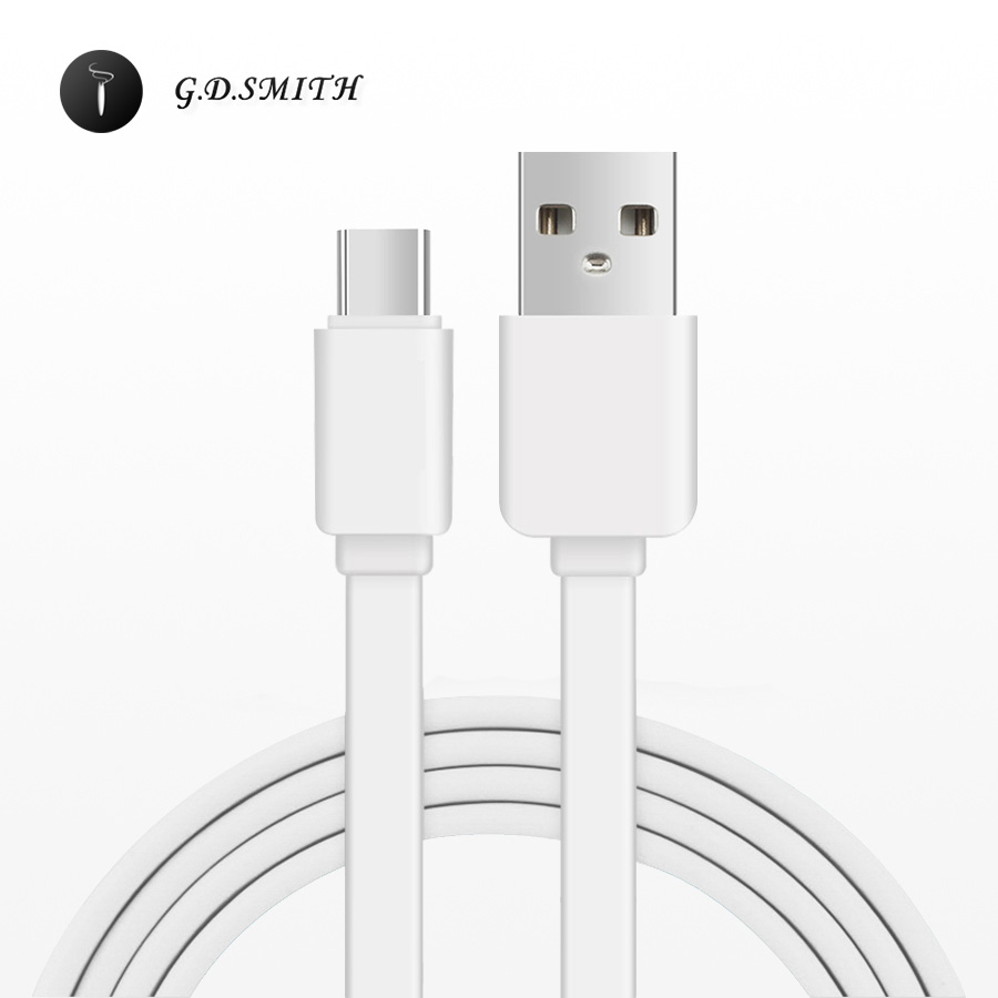 G.<font><b>D</b></font>.SMITH Type <font><b>C</b></font> 2.0 USB Cable 1M Fast Charging Mobile Phone Cable for Xiaomi 4S 4C 5 / Meizu Pro 5 6 / Oneplus 3 Huawei P9 etc.