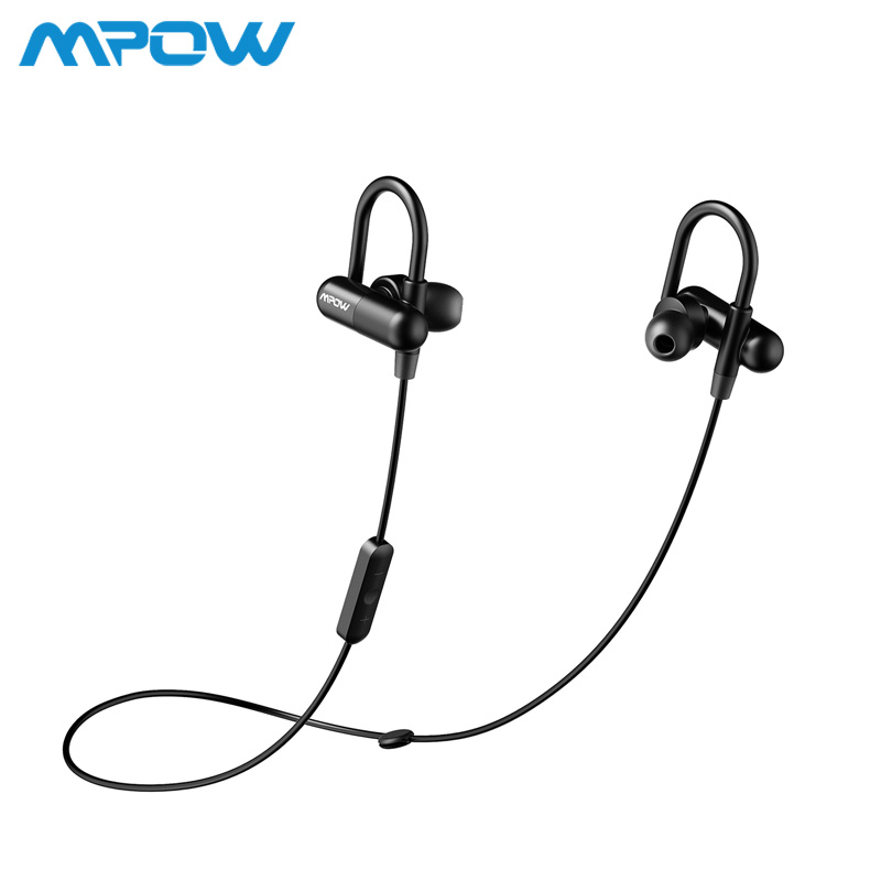 MPOW BH032 Running Headphones Aptx HiFi 3D stereo Bluetooth 4.1 headphone In-ear CVC 6.0 chip Noise cancelling sports earphone цена