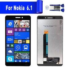 Для Nokia 6,1 ЖК-дисплей Замена экрана для NOKIA 6,1 дисплей ЖК-экран модуль