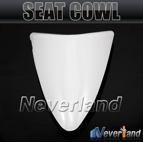 2015 Hot sale Motorcycle Rear Seat Cover Cowl For Kawasaki Ninja ZX6R 636 ZX 6R 2007 2008 07 08 White#90C20 Free shipping hot sale hot sale car seat belts certificate of design patent seat belt for pregnant women care belly belt drive maternity saf