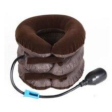 air cervical neck traction Device Soft lint support posture corrector brace Shoulder back massager
