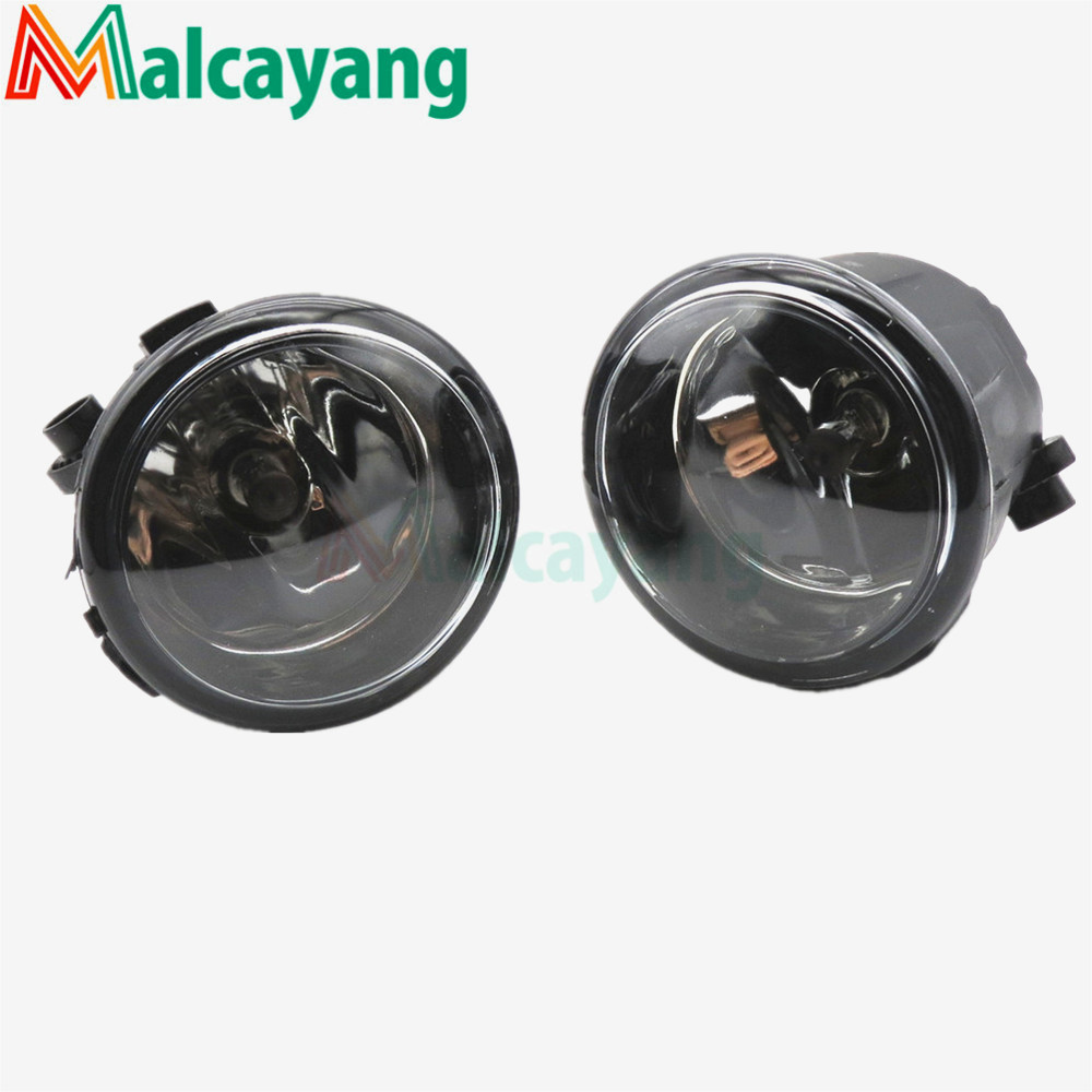 1 SET (Left + right) Car Styling Front Halogen Fog Lamps Fog Lights 26150-8990B For NISSAN Tiida Saloon SC11X 2006-2012 for car styling front bumper fog lights para toyota iq kgj1 ngj1 2012 2013 fog lamps esquerda direita halogen 1set