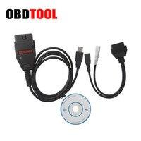 Galleto EOBD2 Galletto 1260 ECU Flasher Interface de Diagnóstico Do Carro 1260 cabo ECU Tuning Chip Ferramenta de Trabalho em EDC16 EDC15 MEx. x DELCO