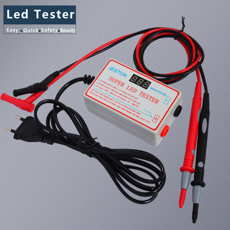 Nice 0-330v Smart-fit Voltage Test Led Backlight Tester Tool Screen Led Lcd Tv Backlight Tester Meter Tool Lamp Bead Light Board Test Back To Search Resultstools Electrical Instruments