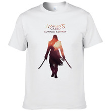 2017 summer Assasins Creed printed t-shirts for men European size short sleeves t shirt fashion fitness camisetas cool tees #148