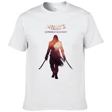 2017 summer Assasins Creed printed t-shirts for men European size short sleeves t shirt fashion fitness camisetas cool tees #148
