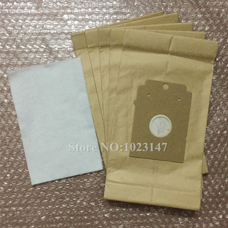 5x Vacuum Cleaner Paper Type K Dust Bag And 1 Filter For Bosch Arriva BSN1900/01 VCBS118V00 BSN1700 Bigbag 31 Vacuum Cleaner Bag
