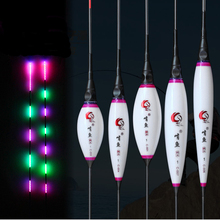3pcs/lot Brand New Fishing Floats Luminous Night Light Best Choise Nano Plastic Material Bobbers Gifts