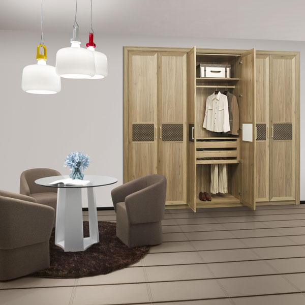 New design small half height wardrobes with dressing table for Dressing table design 2014