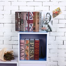 Safe-Box Hidden Book Money-Phone Strongbox Security Password Home Steel for Office Travel