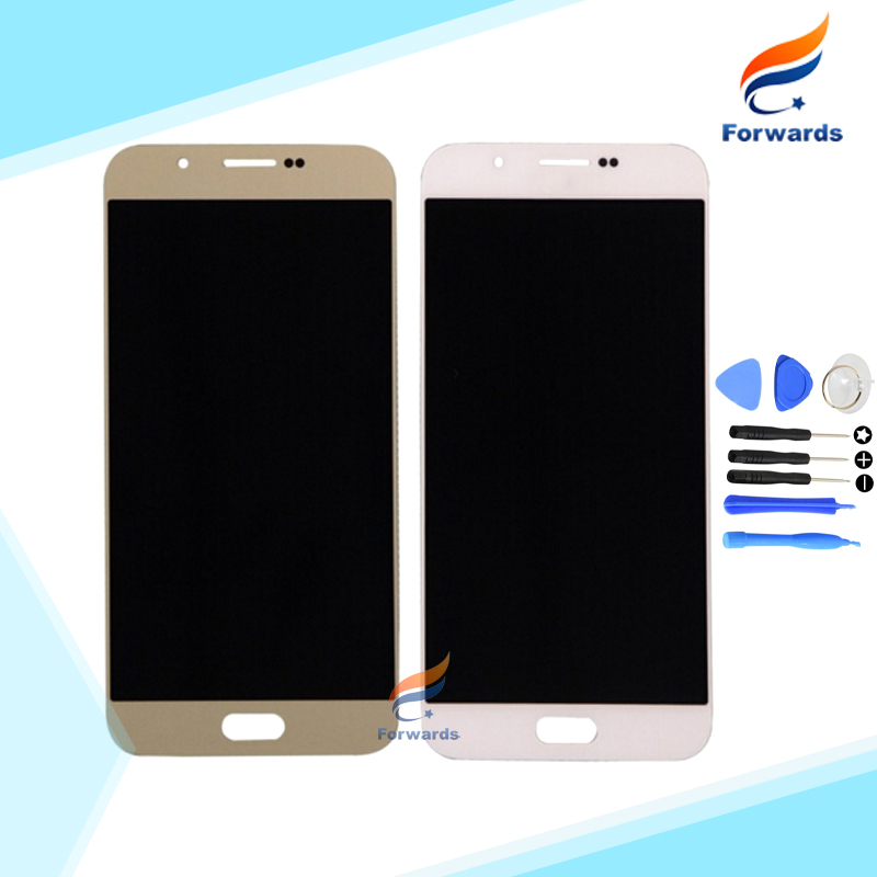100% New Tested for Samsung Galaxy A8 A8000 A800 Lcd Screen Display with Touch Digitizer + Tools Assembly 1 piece Free Shipping brand new lcd for samsung s5 i9600 g900a g900f g900t screen display with touch digitizer tools assembly 1 piece free shipping