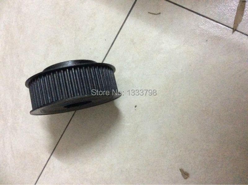 Usine fabrication finition noire 15mm largeur 30 dents T10pulley/10mm forte poulie pour moteur en marche