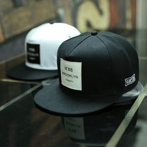 30e198b2101 VORON Letters Baseball Cap Hip Hop Leather Snapback Hats