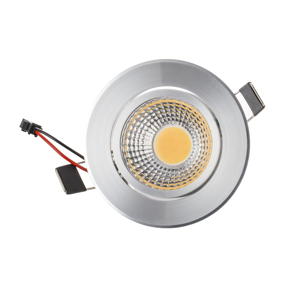 Светодиодная лампа высокой 3 Вт 6 Вт downlight встраиваемые светодиодные лампы на стенах пятно света со светодиодными драйвер для дома Освещение