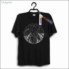 USAprint Fitness T Shirt Men Starry Lost Sky Design Casual Cotton Tshirt  Oversized Short Sleeve Clothing Male Summer Hip Hop b06dd19a906a