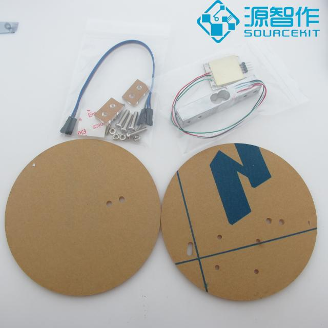 5KG Electronic Scale, DIY Weighing Sensor Kit, Accuracy +-0.1 Grams Module diy kit metal detector kit electronic kit dc 3v 5v 60mm non contact sensor board module electronic part metal detector diy