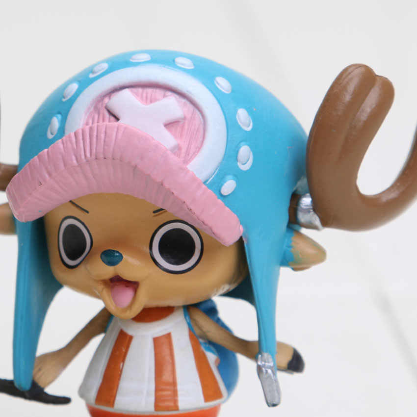 6cm anime uma peça tony chopper dois anos mais tarde figura de ação pvc brinquedos boneca modelo uma peça figura