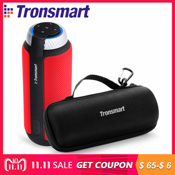 Original Tronsmart Element T6 Speaker Bluetooth 4.1 Portable Speaker Wireless Audio Receiver Speakers USB AUX with Carrying Case