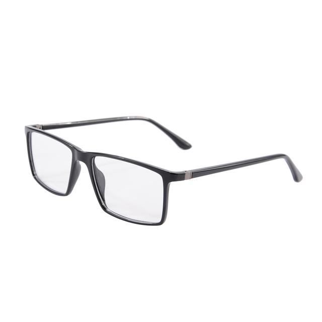 Top Homens Óculos de Marca Designer de Óculos de Acetato de Óculos de Armação de Computador Flexível Armações Oculos de grau Masculino 9195