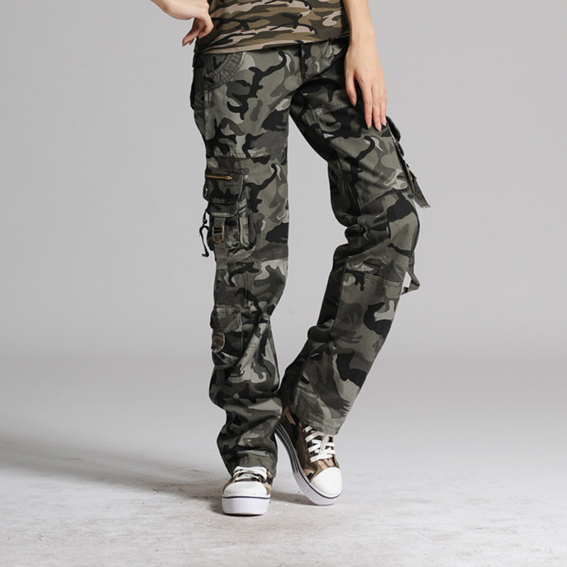 Lastest Pants Picture  More Detailed Picture About Khaki Cargo Pants Women