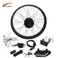 Бесплатная доставка электрический велосипед комплект 1000 Вт для снег велосипед 4.0 Fat Tire двигателя колеса мощный 48 В 1000 Вт электрический велос
