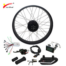 Free Shipping Electric Bike Kit 1000W for Snow Bike 4.0 Fat Tire Motor Wheel Powerful 48V 1000W Electric Bicycle Hub Motor(China)