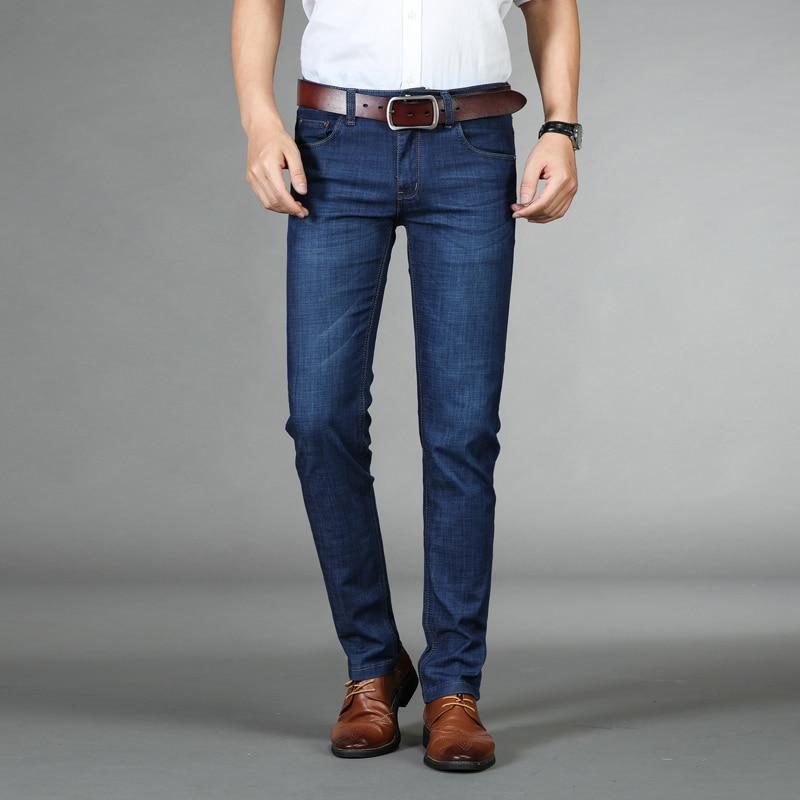 06b842a9d Jean Homme Biker Jeans Spijkerbroeken Heren Peto Vaquero Hombre Men Calca  Masculina Classic Slim Mens Trousers Male Man Pants-in Jeans from Men's  Clothing ...