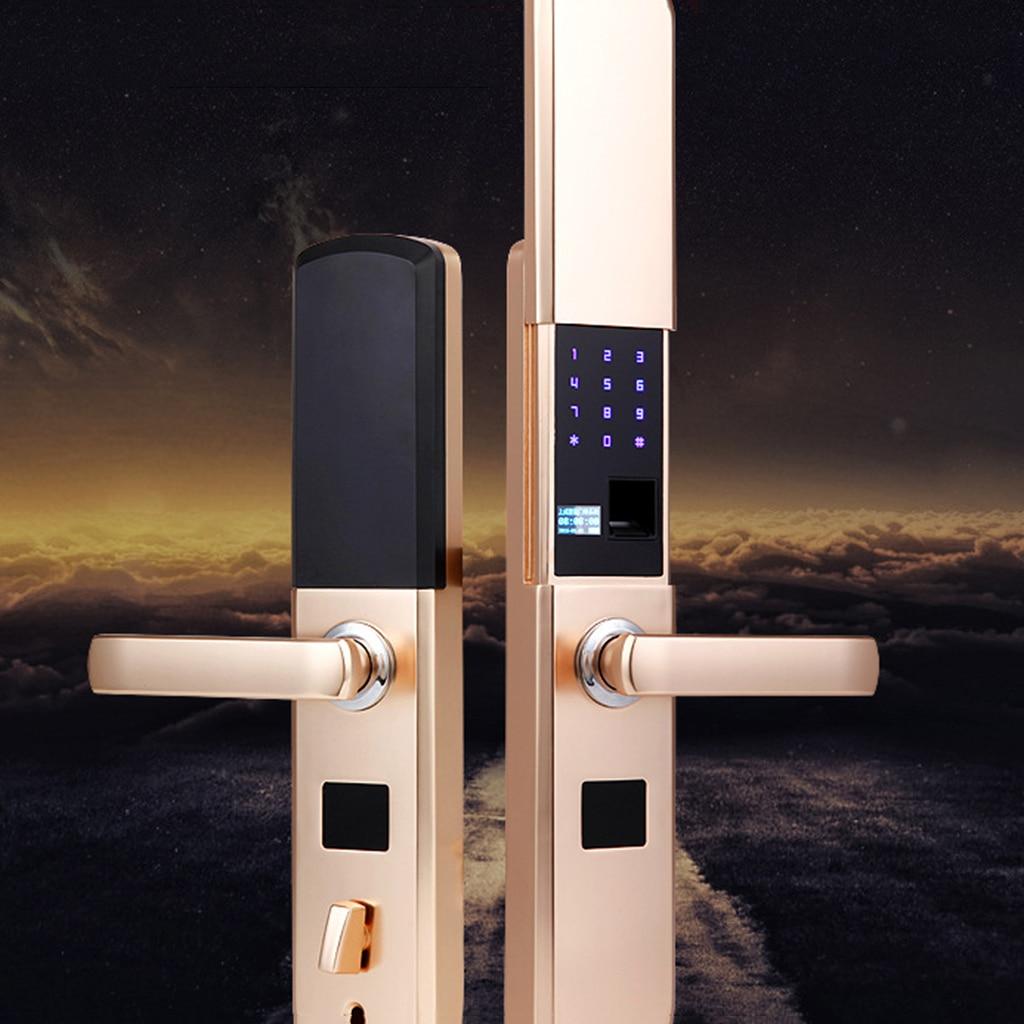 Электронный замок двери Keyless Отпечатков пальцев пароль клавиатуры App контролируемых замок