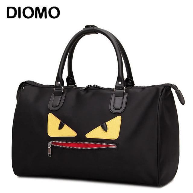DIOMO 2017 little monster travel bag female nylon duffle waterproof women luggage travel bags weekend overnight bag