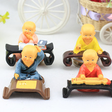 Китайская культура фигура Цинь Qi Шу Хуа зитер Шахматная поэтическая Живопись Смола ремесло украшение дома автомобиль украшение TNM007