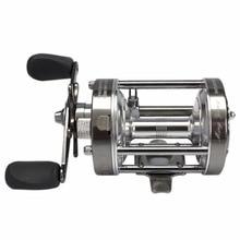 CL70 4.2:1 Lure Fishing Reel Left-Right Optional Metal Round Drum Wheel 2+1 Ball Bearing Baitcasting Trolling Reels