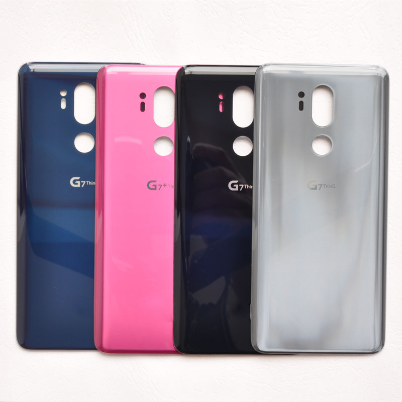 more photos 33d13 04102 ZUCZUG New Original Glass Battery Cover For LG G7 ThinQ G7+ G710 G710EM  Rear Housing Back Case With Adhesive Replacement Part