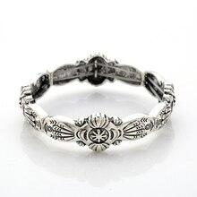2018 new arrival metal elastic bracelet jewelry cuff bangles geometric hyperbole big punk Jewelry high quality woman wholesale