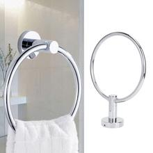 Wall Mounted Towel Hanging Holder 304 Stainless Steel Towel Ring Rail Hanger Hook Towel Organizer Rack Bathroom Supplies недорого