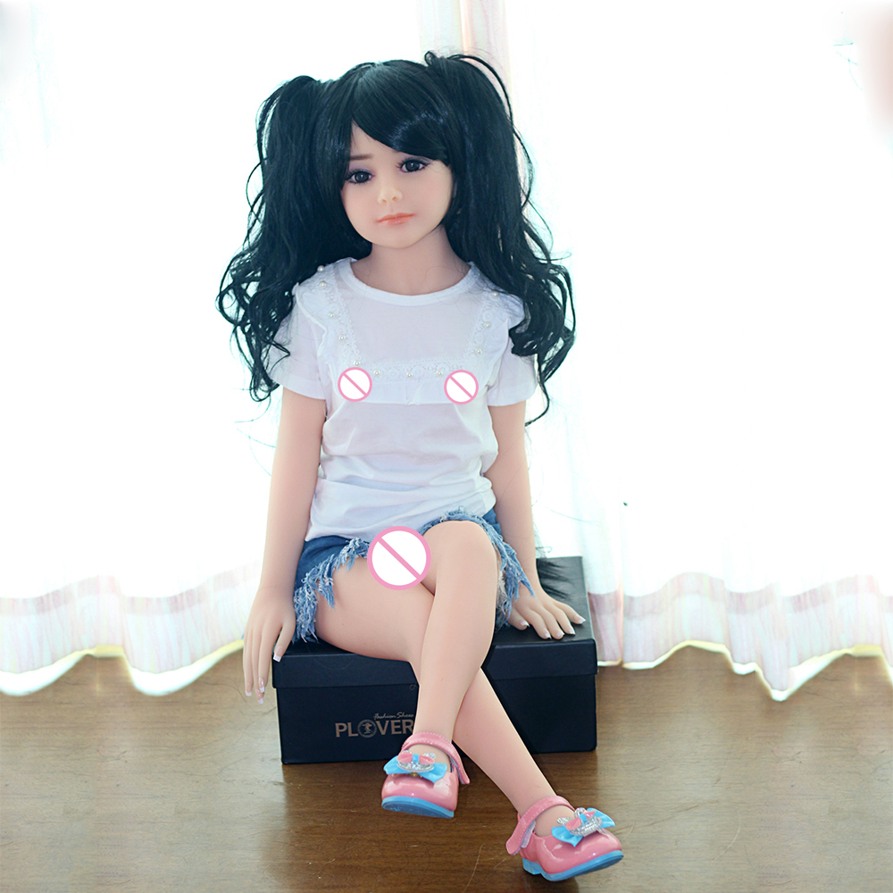 100cm mini font b sex b font font b doll b font with super small breast