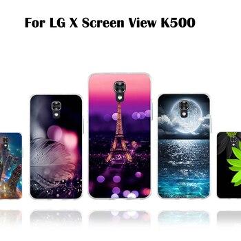 Para LG X funda de teléfono con pantalla para LG X View...