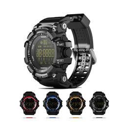 Bluetooth Smart часы уведомления удаленного Управление калькулятор шагомер спортивные часы для улицы Водонепроницаемый мужские женские