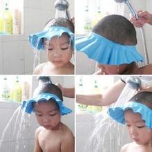 Waterproof Protection Eye Children Hats Hair Kids Bath Visor