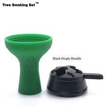 Shisha Head Kaloud Chicha Green Bowl Narguile Nargile Smoking Pipe Accessoriesca Hookah TWAN0356
