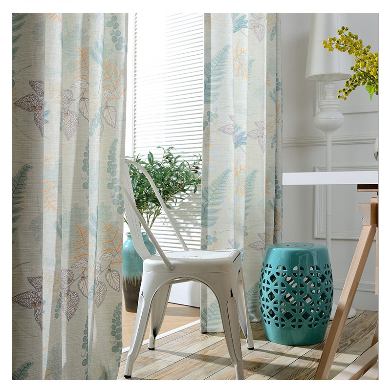Cotton Polyester curtains modern printed bedroom curtains American country  style decorative home window treatment balcony curtai. Online Get Cheap Modern Country Curtains  Aliexpress com   Alibaba