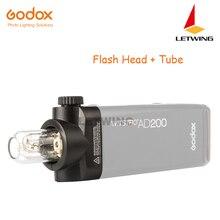 Godox H200 головка Speedlite трубки и головка для AD200 флэш-памяти с лампой