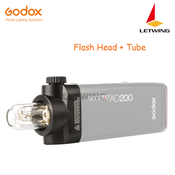 Godox H200 Speedlite Head Tube and Head for AD200 Flash with Bulb