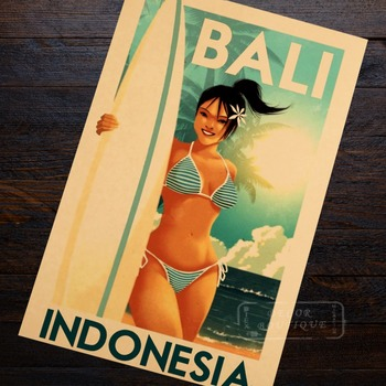 Trip Travel Retro Vintage Poster Canvas Decoration