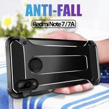 ALLORUS Shockproof Silicone Case for Xiaomi Mi 9T Armor Plastic Redmi 7 A Note Pro K20 Full Protective Back Cover