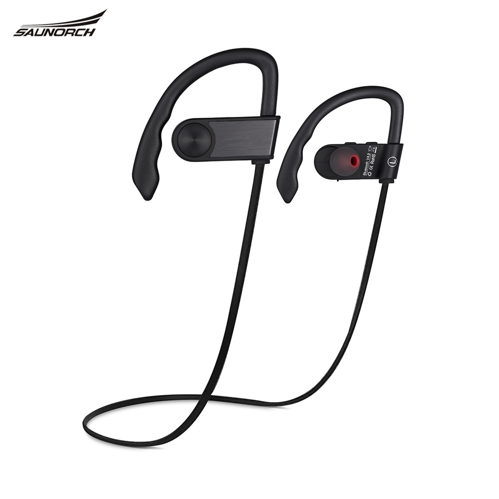 Saunorch Sports Mini Bluetooth Headset headphone Earphone BH01 Sweatproof Wireless Stereo Handsfree for iPhone 7 Samsung Huawei remax t9 mini wireless bluetooth 4 1 earphone handsfree headset for iphone 7 samsung mobile phone driving car answer calls