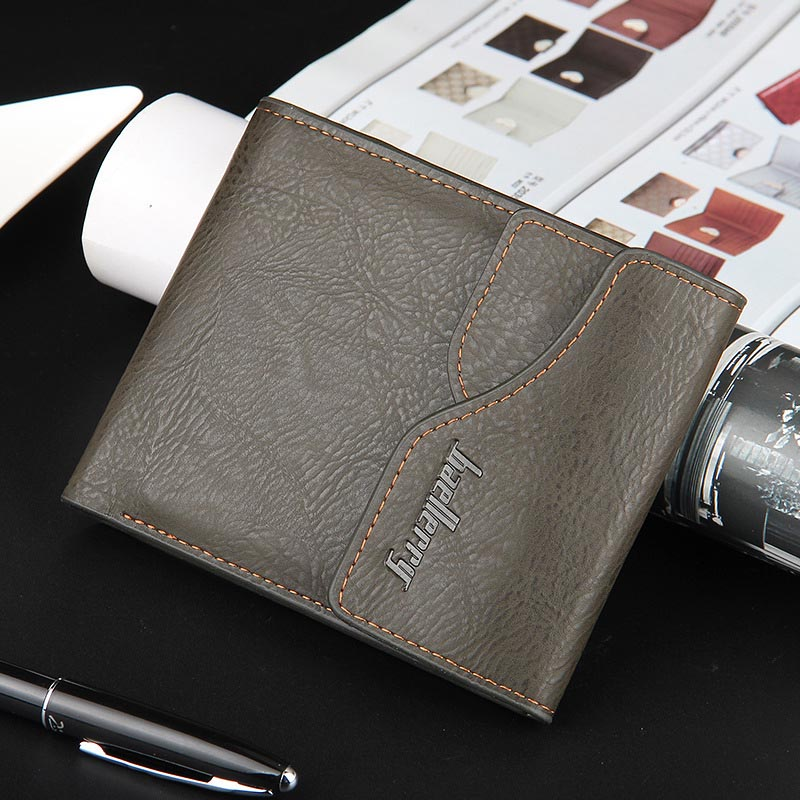 NEW wallet men Clutch Coin pocket purses Designer Casual Clutch wallets Card Holder men wallets Short section portfolio Purse
