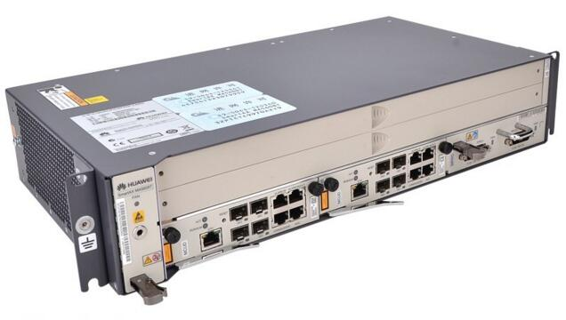 US $2550 0 |Original Huawei OLT MA5608T with 2*MCUD, 1*MPWC DC Power Board,  1*GPFD 16 GPON Ports Board with C+ SFP Module, V800R013 Software-in Fiber